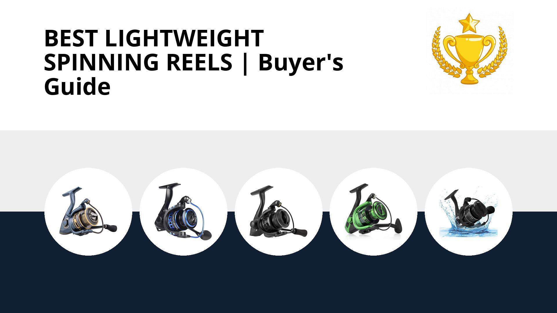 Best Lightweight Spinning Reels: image