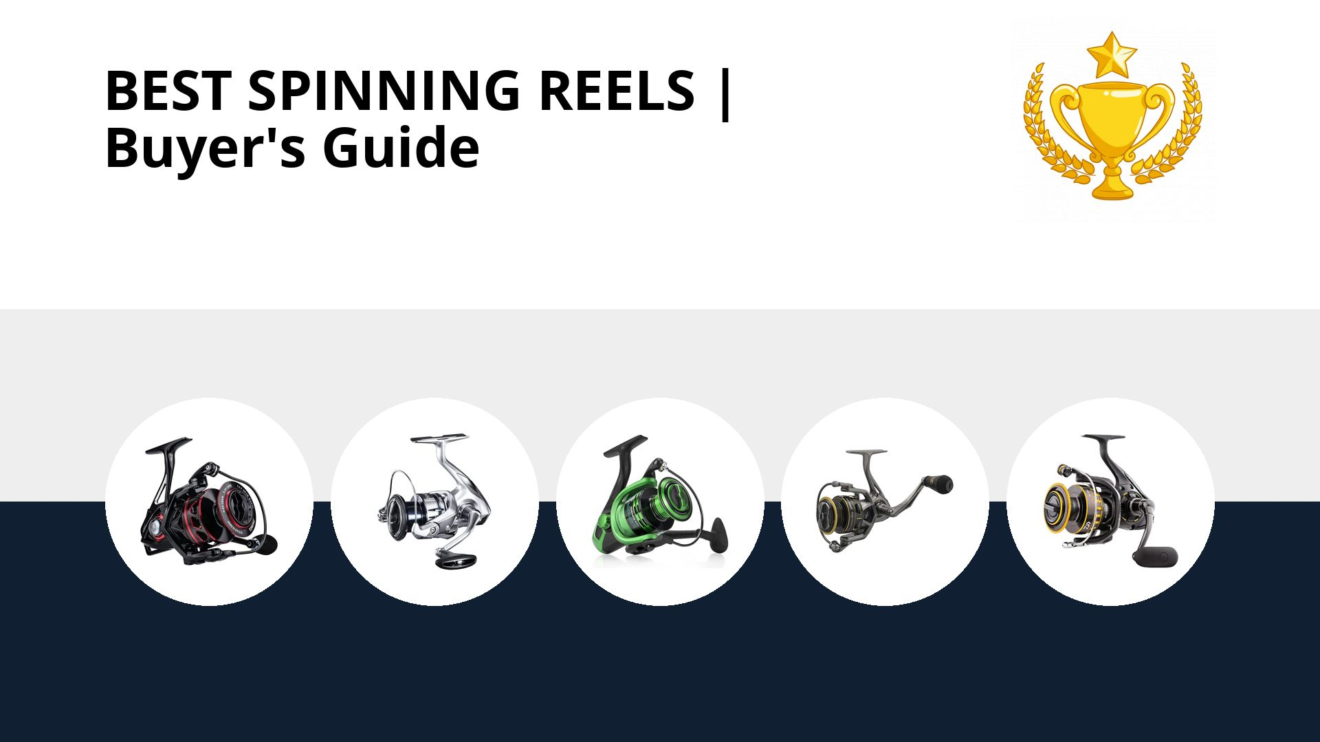 Best Spinning Reels: image