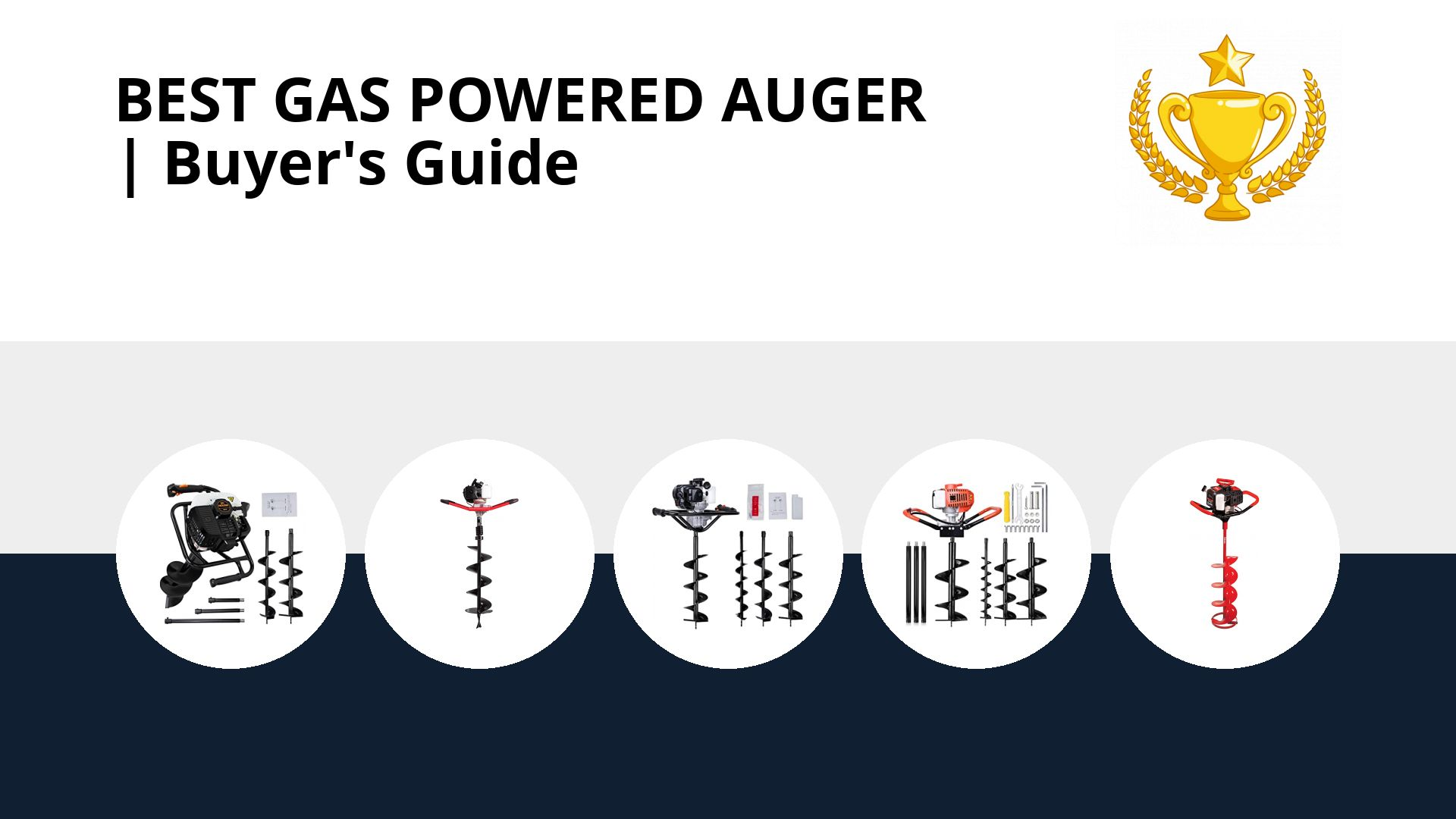 Best Gas Powered Auger: image