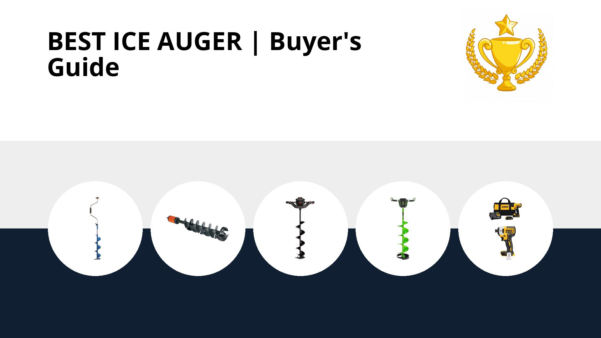 Best Ice Auger: image