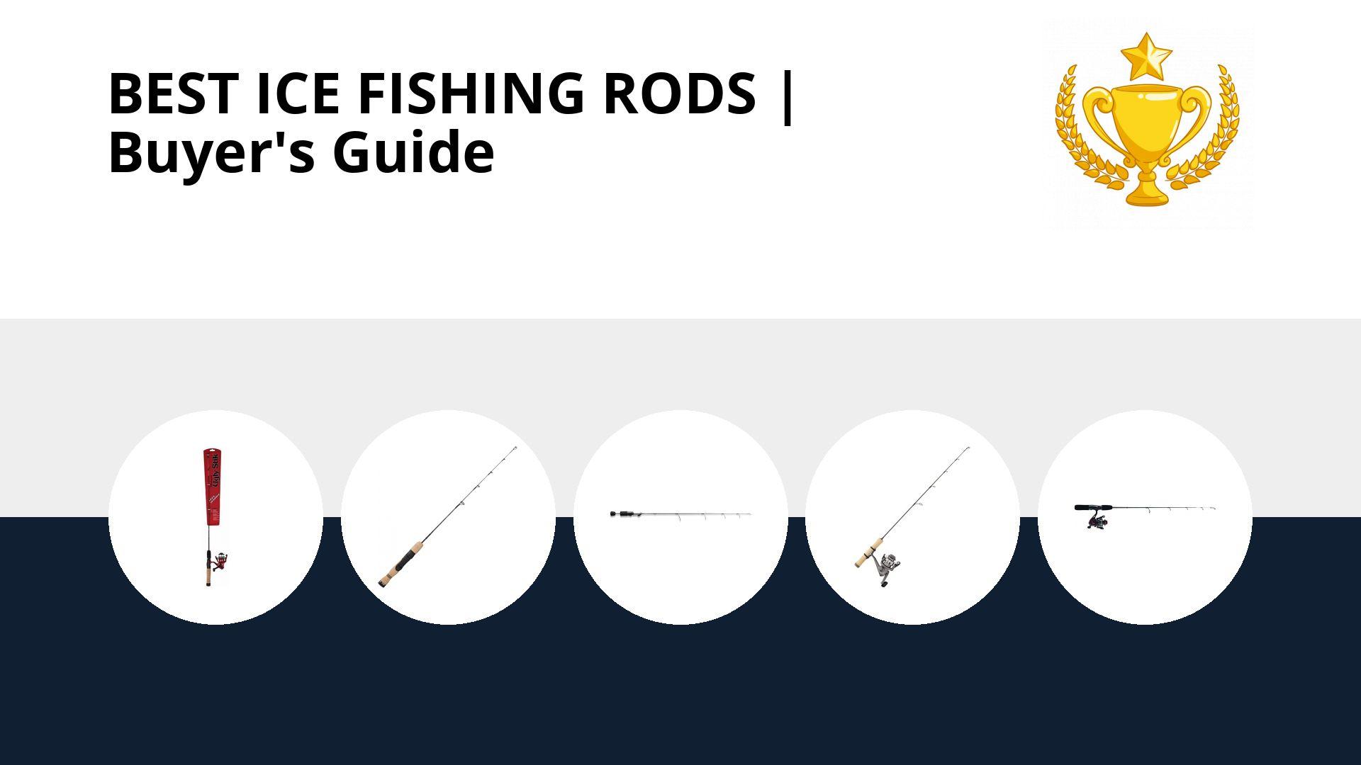 Best Ice Fishing Rods: image