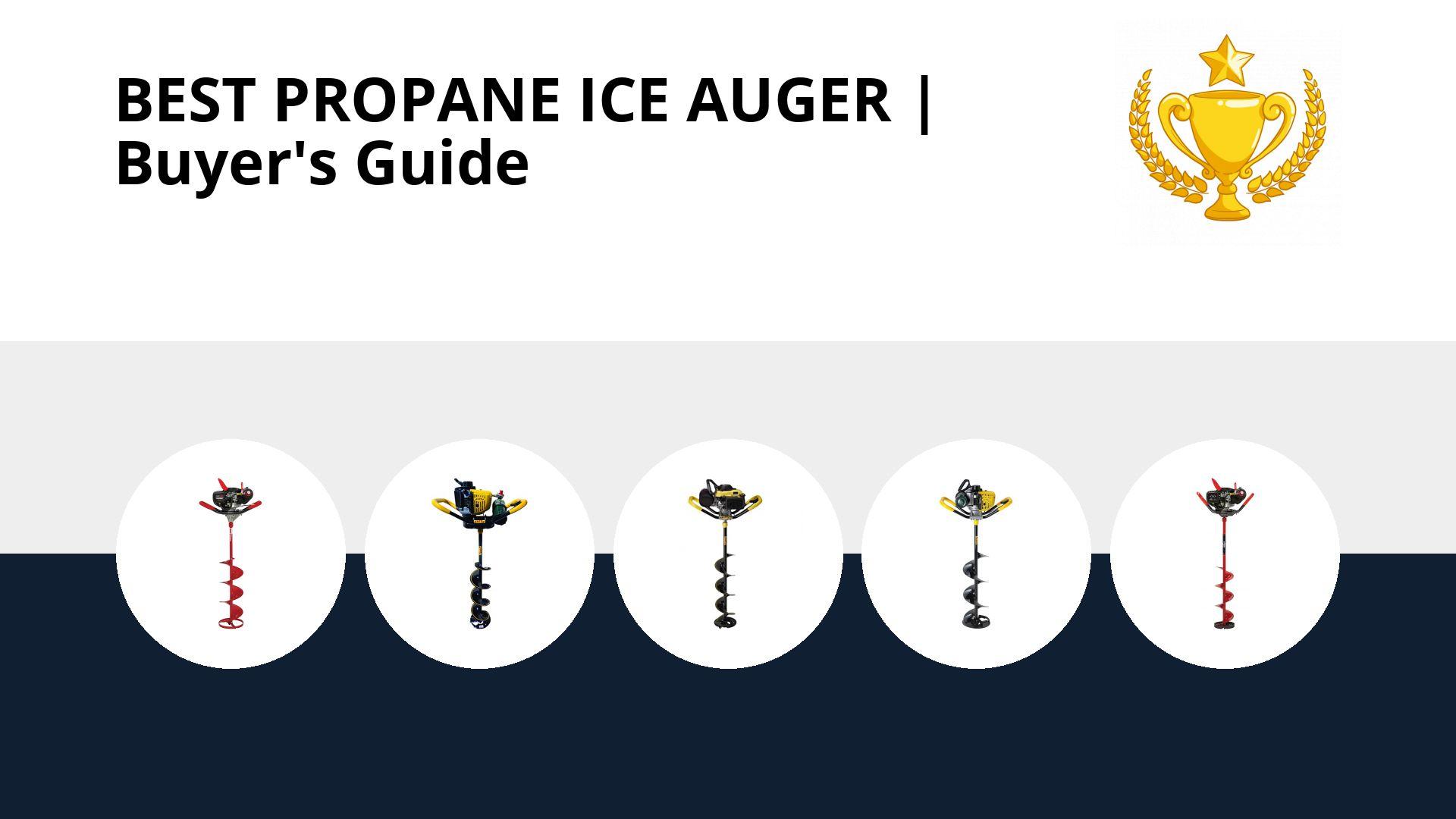 Best Propane Ice Auger: image