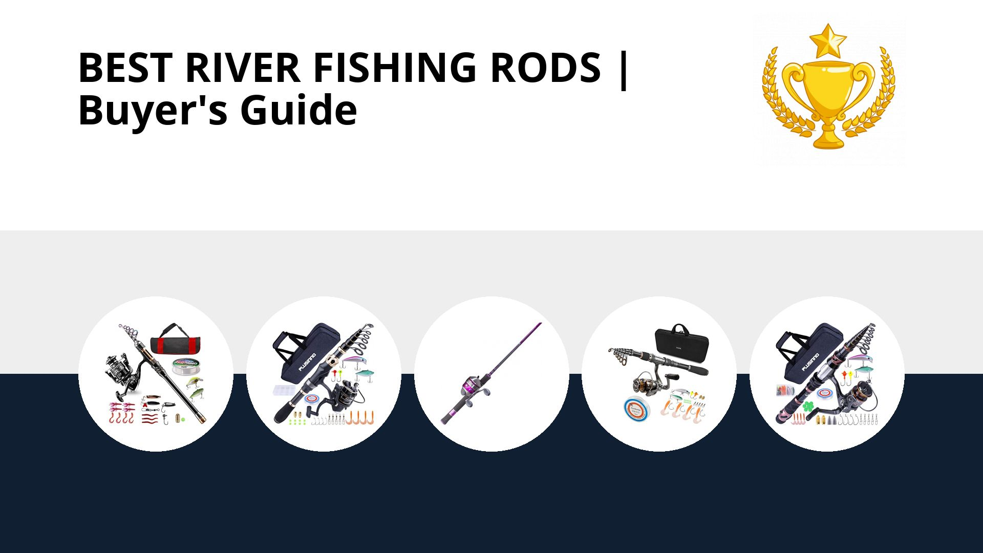 Best River Fishing Rods: image